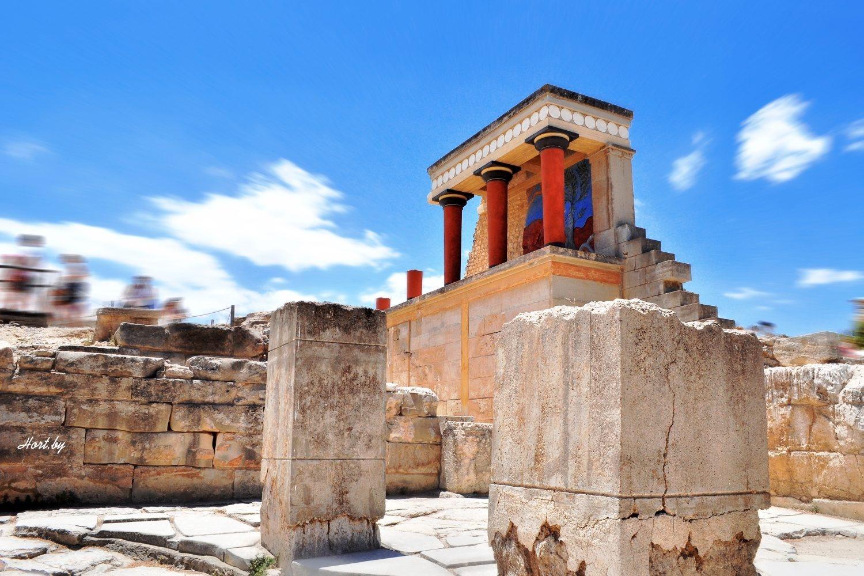Кносский дворец. Лабиринт Минотавра. Крит