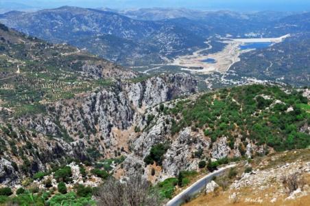 Крит. Диктейские горы.