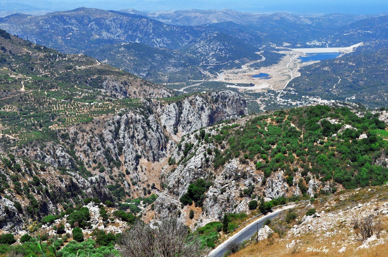 Диктейские горы. Крит
