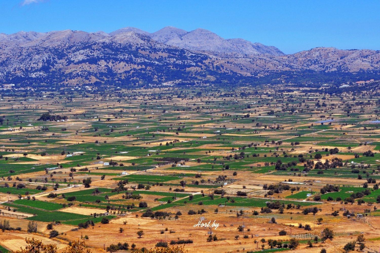 Плато Ласити. Диктейские горы. Крит