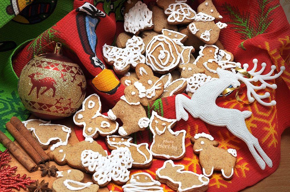 Имбирное печенье на Рождество: Классический рецепт