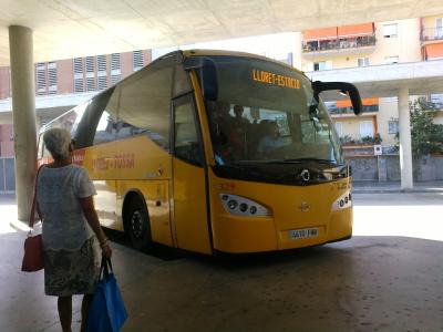 расписание автобуса ллорет бланес