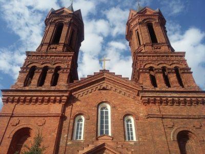 Костел Святой Варвары Витебск