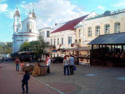 Улица Суворова в Витебске