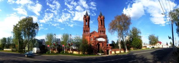 Собор Святой Барбары в Витебске