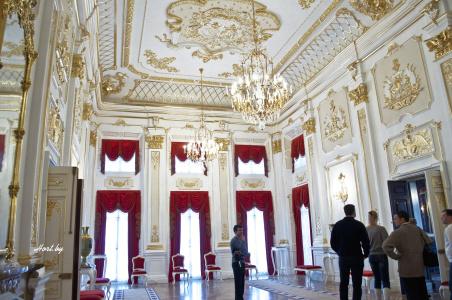 Несвижский замок, экскурсия внутри