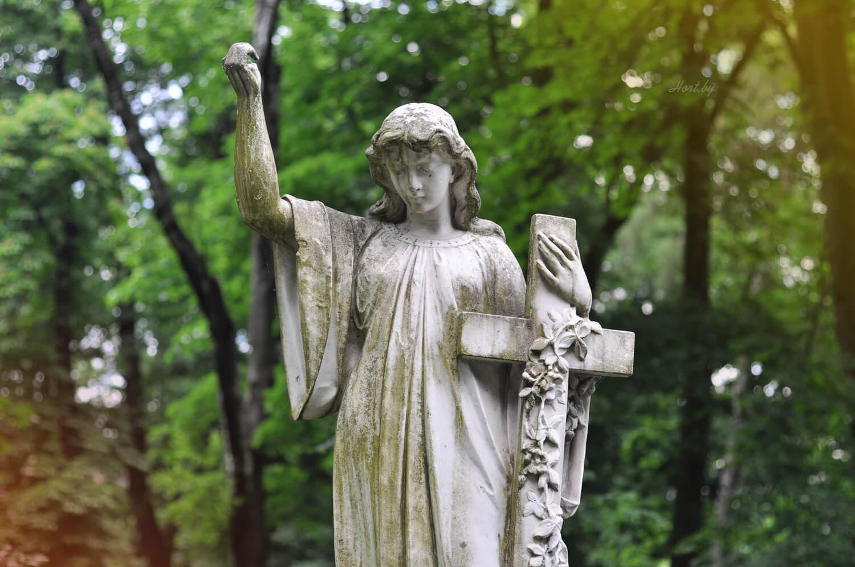 Лычаковское кладбище. Крест.