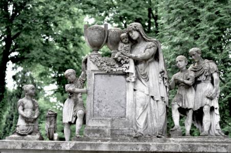 Мемориал семье. Лычаковское кладбище. Львов.