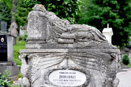 Станислав Зборовски. Лычаковское кладбище. Львов.
