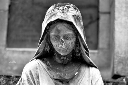 Скорбящий ангел. Лычаковское кладбище. Львов.