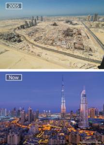 ОАЭ. Изменение в строительстве.
