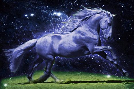 Энергия синей лошади