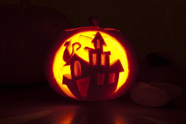 +как сделать тыкву на хэллоуин