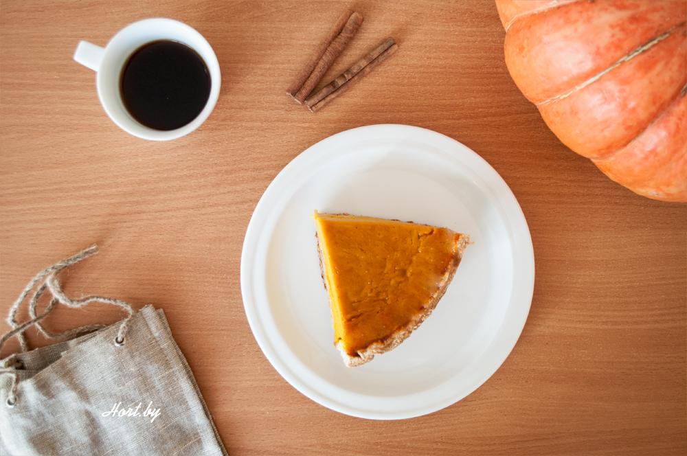 Американский тыквенный пирог с корицей Рецепт